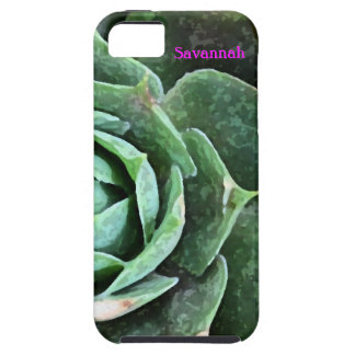 Rose Succulent personalized Iphone 5 iPhone SE/5/5s Case