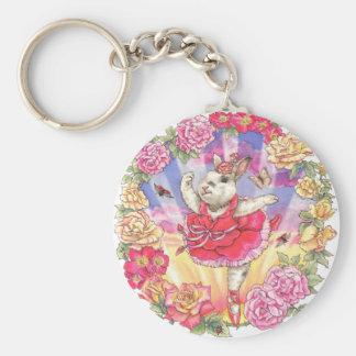Rose Sunrise Keychain
