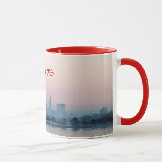 Rose Sunset Cleveland OH Mug