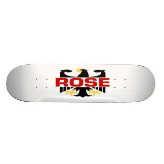 Rose Surname Skateboard Deck