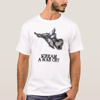 Rose T-shirt (white)