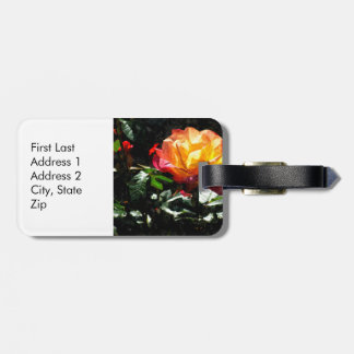Rose Tag For Luggage