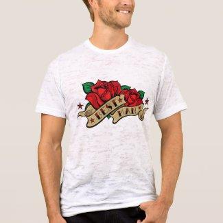Rose Tattoo Best Man Shirt. shirt