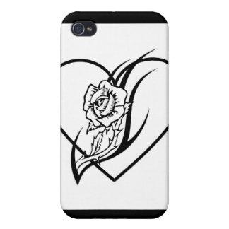 Rose Tattoo iPhone 4 Covers