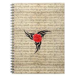 Rose Tattoo Note Books