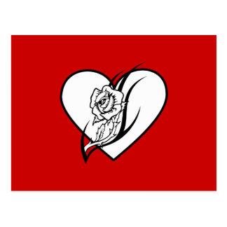 Rose Tattoo Postcard