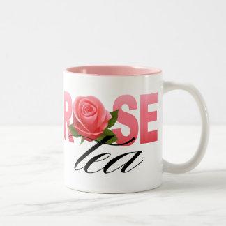 Rose Tea Two-Tone Coffee Mug