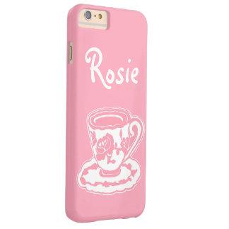 Rose Teacup Pink Custom iPhone 6/6s Plus Case