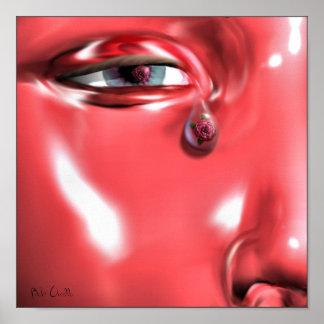 Rose Tear Poster