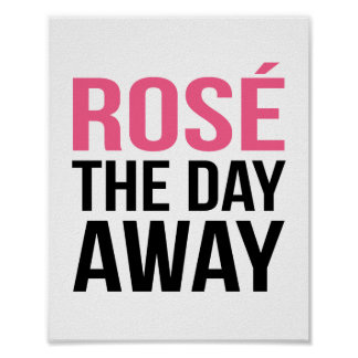 Rose the Day Away | Art Print
