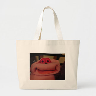 Rose the Puppet Large Tote Bag
