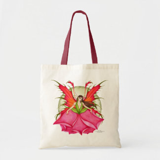 Rose Thorn Fairy Tote Bag