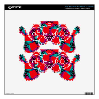 Rose Tiling Skins For PS3 Controllers