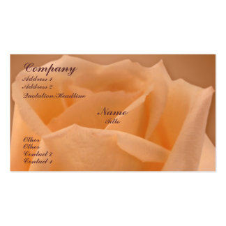 Rose Top Business Cards