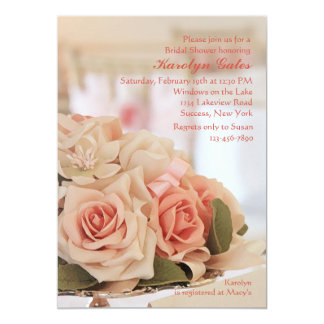 Rose Tray Invitation