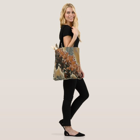 Rose Tree Art Tote Bag