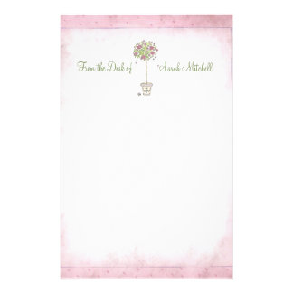 """Rose Tree: """"From the Desk of -"""" Stationery"""