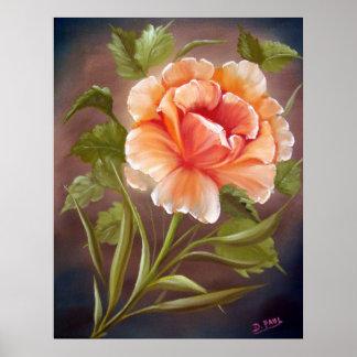 Rose Tropicana Poster