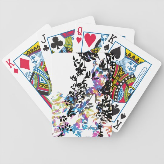 Rose Vine Playing Cards