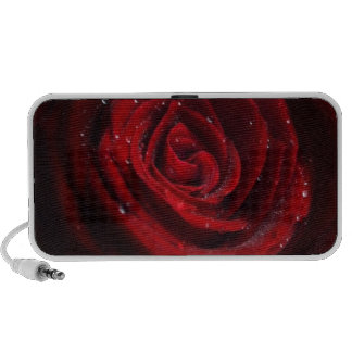 Rose Vines Heart Pattern Flower Peace Love Destiny Mini Speaker