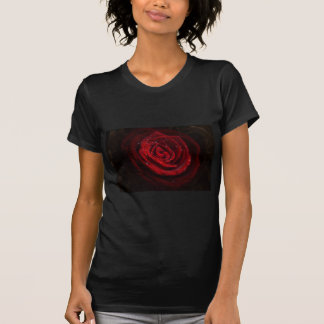 Rose Vines Heart Pattern Flower Peace Love Destiny T-Shirt