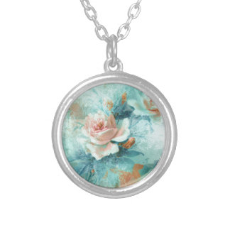 Rose vintage mothers love PERSONALIZE Personalized Necklace