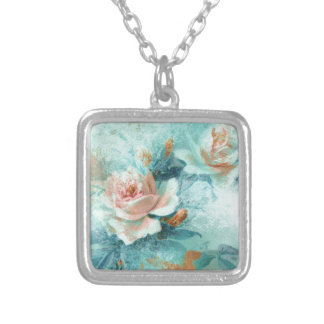 Rose vintage mothers love PERSONALIZE Necklaces