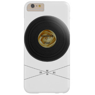 Rose Vinyl/disc imprint with white bloom label Barely There iPhone 6 Plus Case