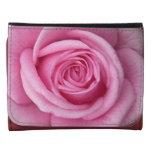 Rose Wallet Pink Rose Flower Wallets Gifts