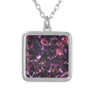 Rose Water Silver Plated Necklace