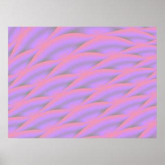 Rose Waves Print