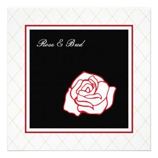 Rose Wedding Invitations