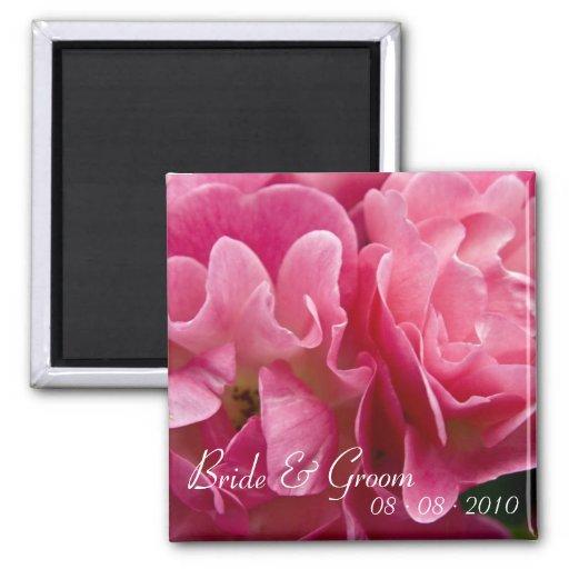 Rose :: Wedding Magnet