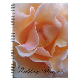 Rose Wedding Planner Spiral Notebooks