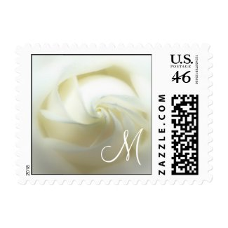 Rose Wedding Postage Stamp stamp