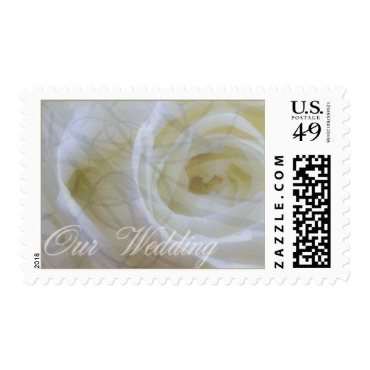 rose wedding stamps