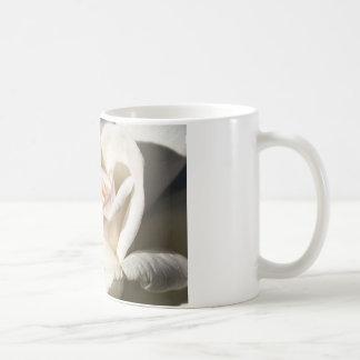 Rose White Coffee Mug