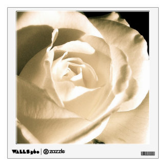Rose White Wall Decal