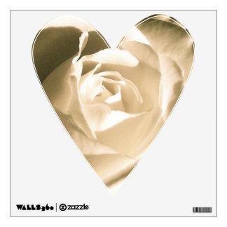 Rose White Wall Sticker
