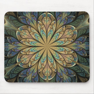 Rose Window Mouse Pad
