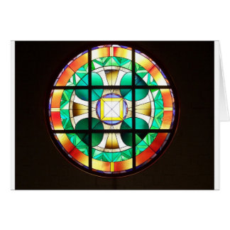 Rose Window Notecards Greeting Card