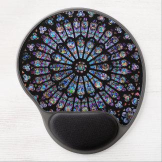 Rose Window of Notre Dame Gel Mousepad