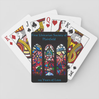 Rose Window Playing Cards