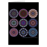 Rose Window Quilt #1 Greeting Card