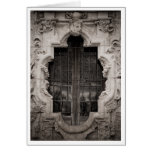 Rose Window Stationery Note Card