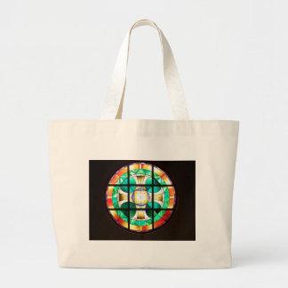 Rose Window Tote Bag