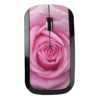 Rose Wireless Mouse Custom Pink Rose Mouse