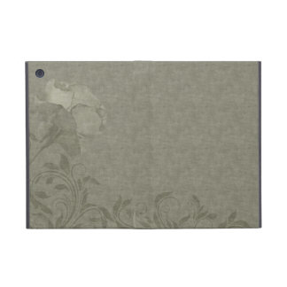 Rose with Damask pattern Case For iPad Mini