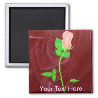 Rose within a Rose Fridge Magnet