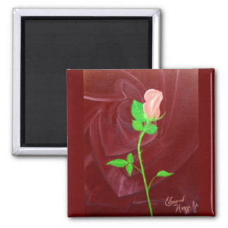 Rose within a Rose Refrigerator Magnets